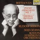 Beethoven: Piano Concerto No.3; Choral Fantasy (CD, Oct-1983, Telarc Distribution)
