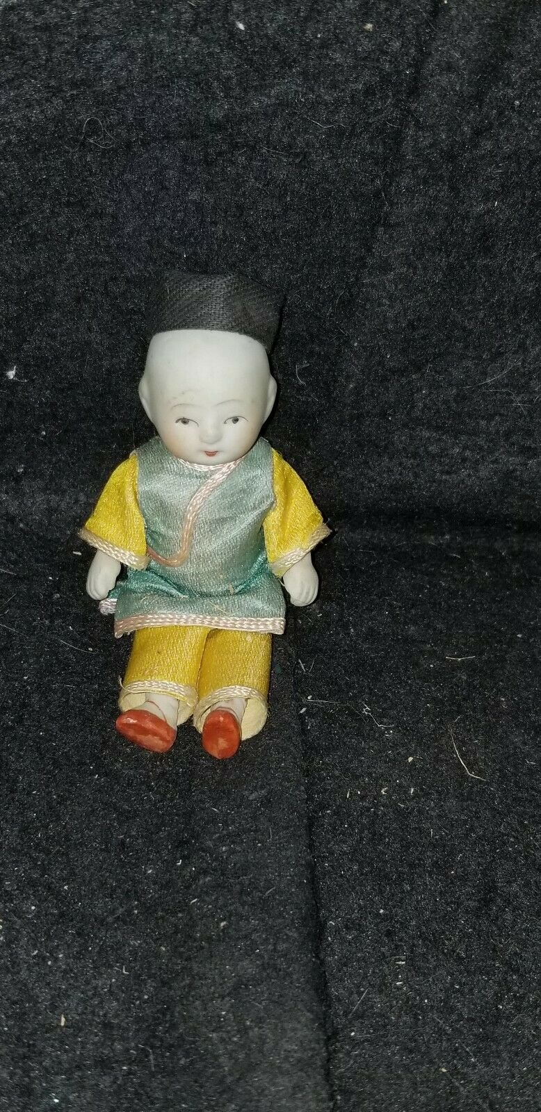 ANTIQUE JAPANESE MADE IN JAPAN ALL BISQUE BOY DOLL APPROX 4