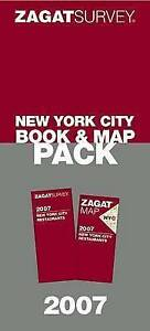 NEW-Zagat-2007-New-York-City-Book-amp-Map-Pack-by-Zagat-Survey