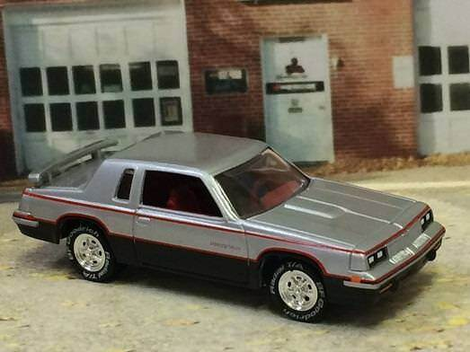 1984 84 Hurst Olds Lightning Rod Shifter SPORT COUPE 1 64 Scale Limited Ed. B41