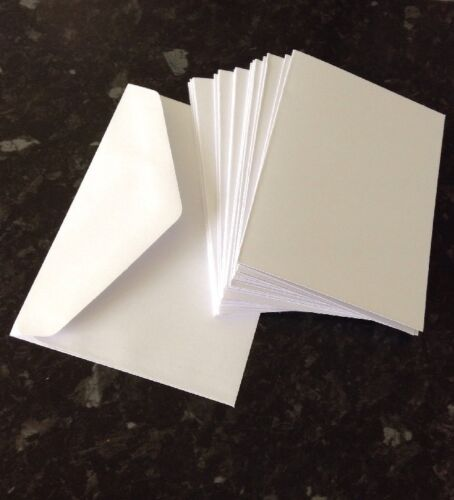 50 Blank cards and envelopes card making craft clear out job lot cards bundle