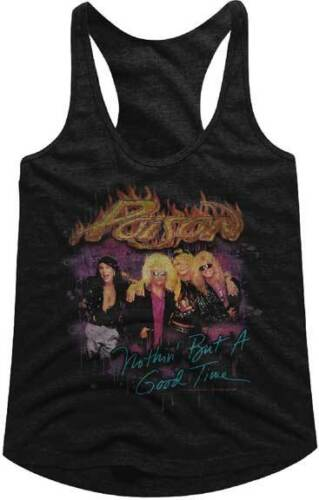 Poison Nuthin But A Good Time Women/'s Tank Top T Shirt Rock Music
