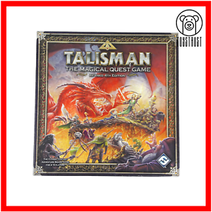 Talisman-The-Magical-Quest-Revised-4th-Edition-Fantasy-Adventure-Board-Game