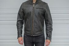 Men's Cafe Racer Leather Jacket Penguin Nordstrom