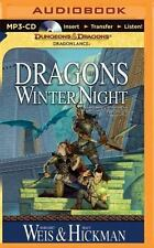 Dragonlance Chronicles: Dragons of Winter Night 2 by Tracy Hickman and Margaret Weis (2015, MP3 CD, Unabridged)