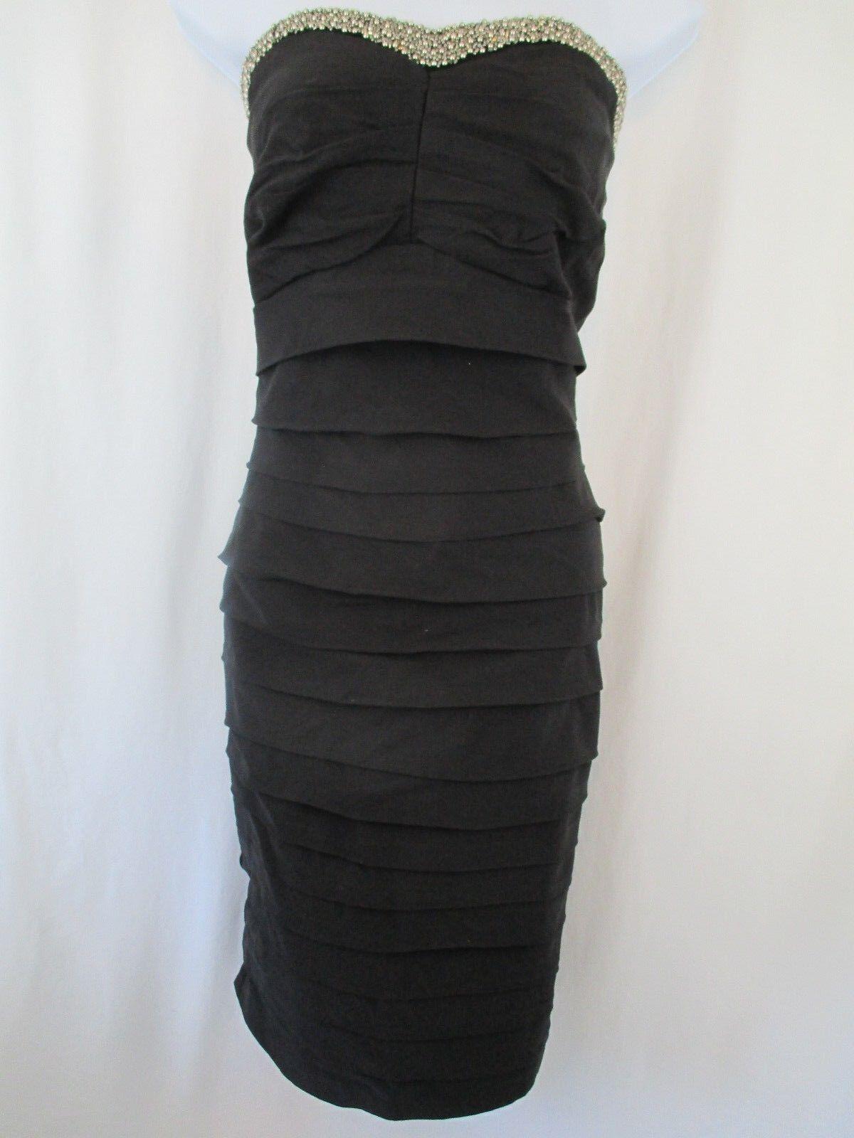 566aa72de42 Torrid Mini Stretch Dress Evening Formal Tube Black Strapless Plus ...