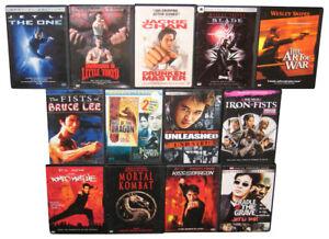 Martial-Arts-Karate-Jet-Li-Wesley-Snipes-Blade-DVD-Lot-13-DVDs