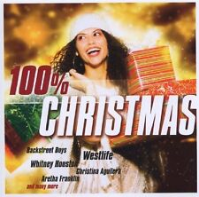 100% Christmas (2011, Sony) Westlife, Jessica Simpson, Aretha Franklin, B.. [CD]