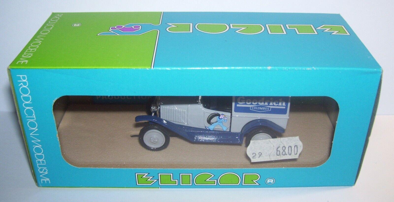 ELIGOR CITROEN 5CV 5 CV VAN 200KG 1926 REF1011 TIRES GOODRICH 1 43 BOX 1