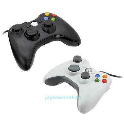 Wired USB Controller Game Pad Joypad Handle For Microsoft Xbox 360 PC Windows