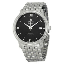 Omega Mens De Ville Prestige Black Automatic Swiss Made Watch424.10.37.20.01.001