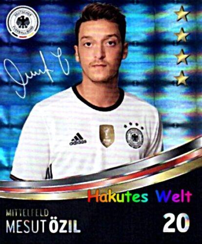 Rewe DFB GLITTER CARTE DA COLLEZIONE EURO 2016 SELEZIONE-N 1-36