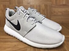 29528afa0042 item 2 RARE🔥 Nike Rosherun Roshe Run Premium Ash Suede Summit White Sz 9.5  685280-017 -RARE🔥 Nike Rosherun Roshe Run Premium Ash Suede Summit White  Sz 9.5 ...