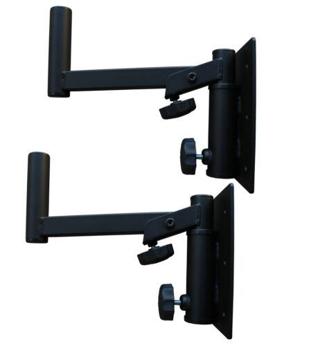 Set 2x Wandhalter für Lautsprecher neigbar Boxen DJ Speaker Stand *made in EU*
