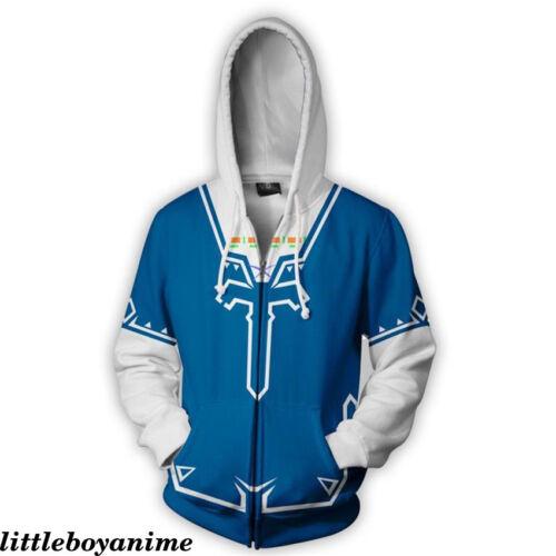 Game Kingdom Hearts YuGi-OH Zelda Men/'s Sweater Hoodie Sweatshirt Long sleeve