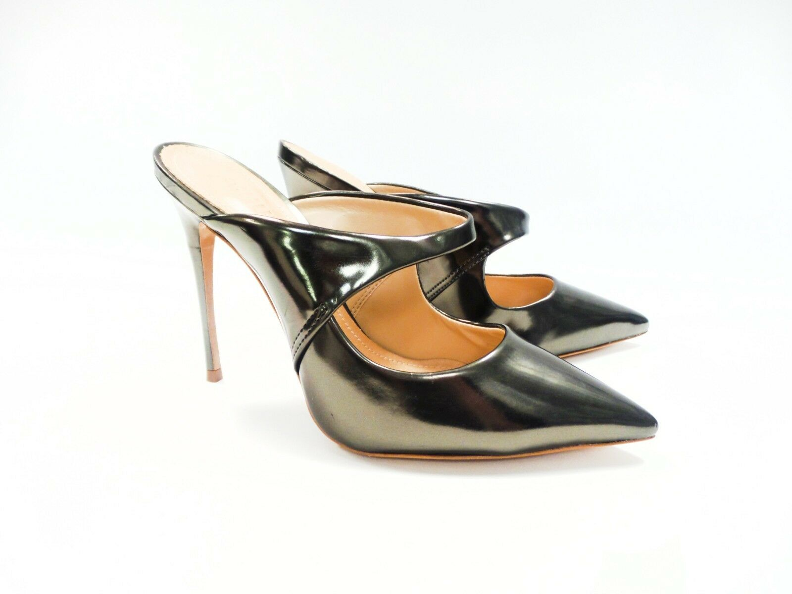 Schutz   Metallic Pointed Toe Pumps Pumps Pumps Size 7 7d684f