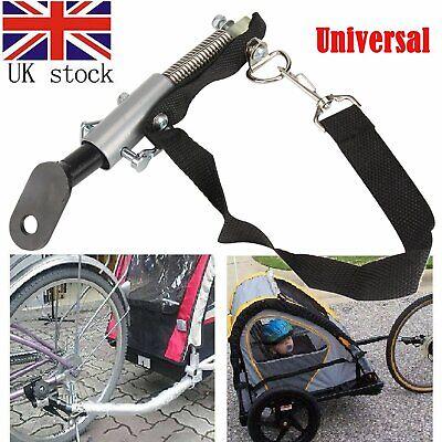 USA Universal Bike Trailer Baby Pet Coupler Hitch Linker Connector Attachment