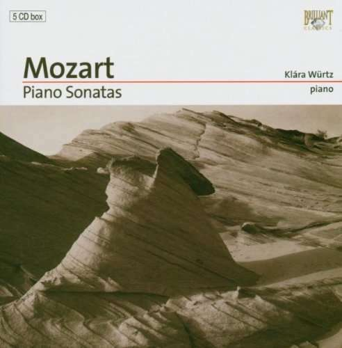 Mozart Klaviersonaten Nr. 1-18 - Klara Würtz, 5 CDs (2004)