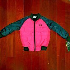e12049e2e Under Armour Girls  Tri Meta Feature Reversible Puffer Jacket 6 Pink ...