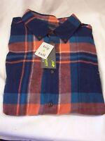 Flannel Plaid Shirt Xlt Big & Tall Button Down John Bartlett Consensus Men's