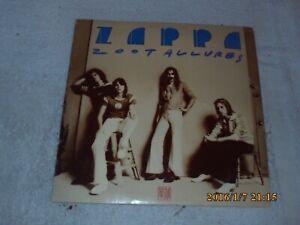 Zoot Allures By Frank Zappa (Vinyl 1976 Warner Bros) Original Record Album