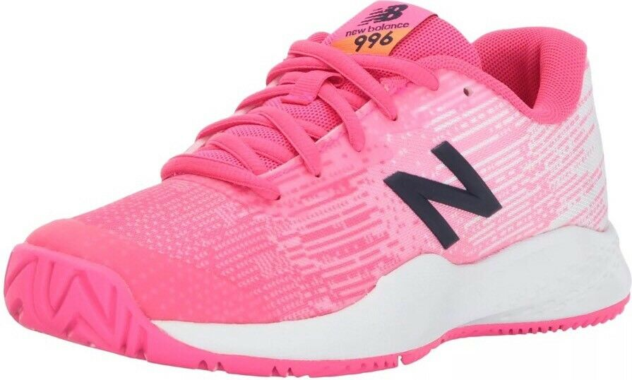 New Balance Women's 996 Tennis shoes 2017 Pink White Sz 7 Nwob (Kc996al3). cute