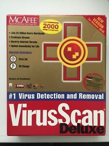Image Is Loading Mcafee Virus Scan Deluxe For Windows 98 95
