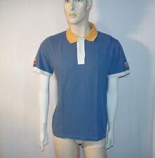 Onitsuka Tiger  t-shirt polo maniche corte uomo TG XL  blu usata originale
