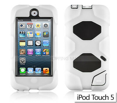 New E Heavy Duty Hard Case Cover for Apple iPod Touch 5 5th 5G
