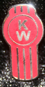 fc233ad8e13 Kenworth KW hat pin lapel emblem decal plaque diesel badge truck cap ...