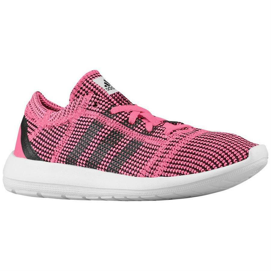 8f7aab043e888 Wo Hommes ADIDAS ELEMENT REFINE TRICOT W W TRICOT Pink Running Trainers  M18917 eb7a07