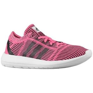 Image is loading Womens-ADIDAS-ELEMENT-REFINE-TRICOT-W-Pink-Running-