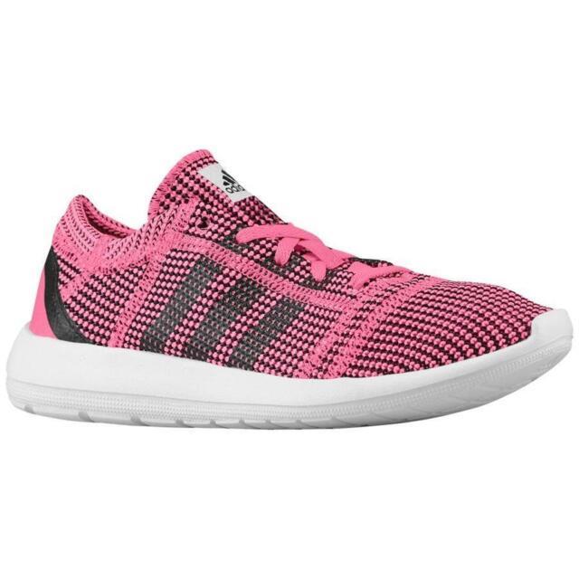 60f415c0242a1e adidas Element Refine Tricot W Pink Black Womens Jogging Running ...