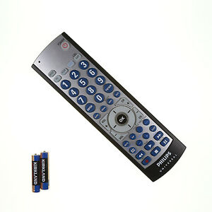 philips cl035a universal remote control w batteries fully tested ebay rh ebay com philips universal remote cl035a manual pdf philips universal remote control cl035a code list