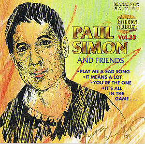 Paul-Simon-and-Friends-Biographic-Edition-CD-New-amp-orig-Box-Cosmus-DSB-12
