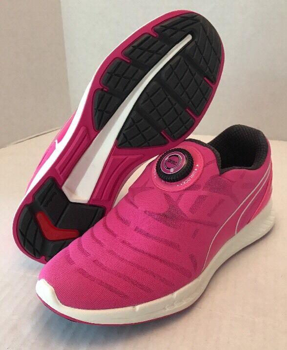 Woman's Puma ignite ignite Puma Sneakers Pink And Weiß Sz 7.5 NEW 9db334