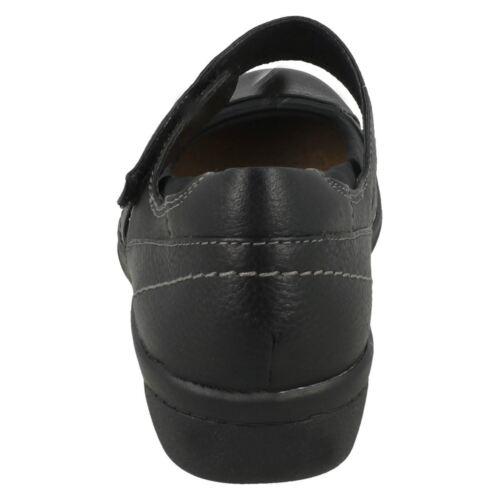 Mujer Clarks Zapato Web Cuero Cheyn x41S4wa