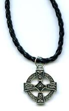 Halskette Keltenkreuz Necklace Celtic Cross Kreuz Mystic Gothic x