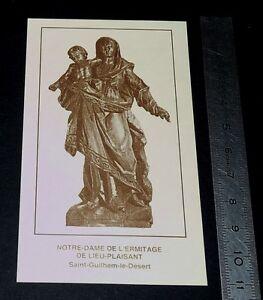 CHROMO 1994 IMAGE PIEUSE CATHOLICISME HOLY CARD N.D.ERMITAGE LIEU DE PLAISANT IMG1pgsp-08070537-666336380