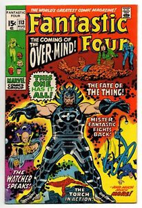 Fantastic-Four-Vol-1-No-113-Aug-1971-VFN-8-5-Marvel-Bronze-Age