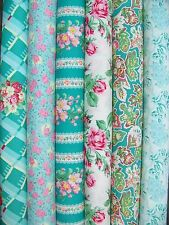 6 Fat Quarters of SNAPSHOT in Shade by Verna Mosqurea for FreeSpirit ~ 1.5 yards