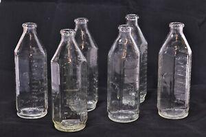 Vintage Glass Pyrex Babies Feeding Bottles 1960s