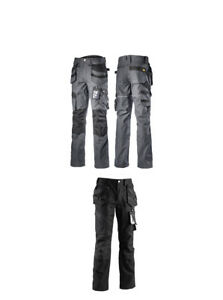 Details about Diadora Utility Workwear Stark Work Trousers Grey or Black