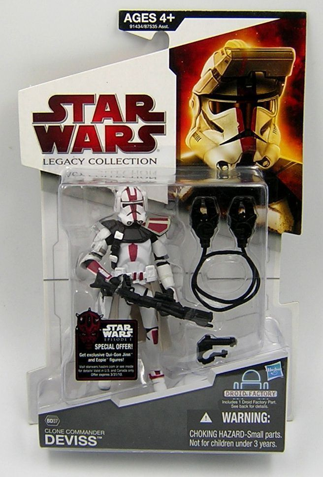 Star Wars Legacy Collection BD37 Clone Commander Deviss