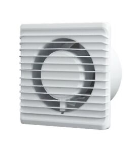 Bathroom Extractor Fan 125mm With Timer