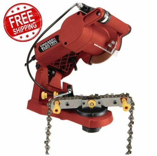 Electric Chain Saw Sharpener Grinder Stihl Husqvarna Echo Chainsaw Tool Pole NEW