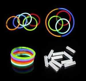Image Is Loading 300 8 Inch Premium Glow Sticks Bracelets Necklaces
