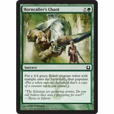 MTG RETURN TO RAVNICA foil Horncaller/'s Chant