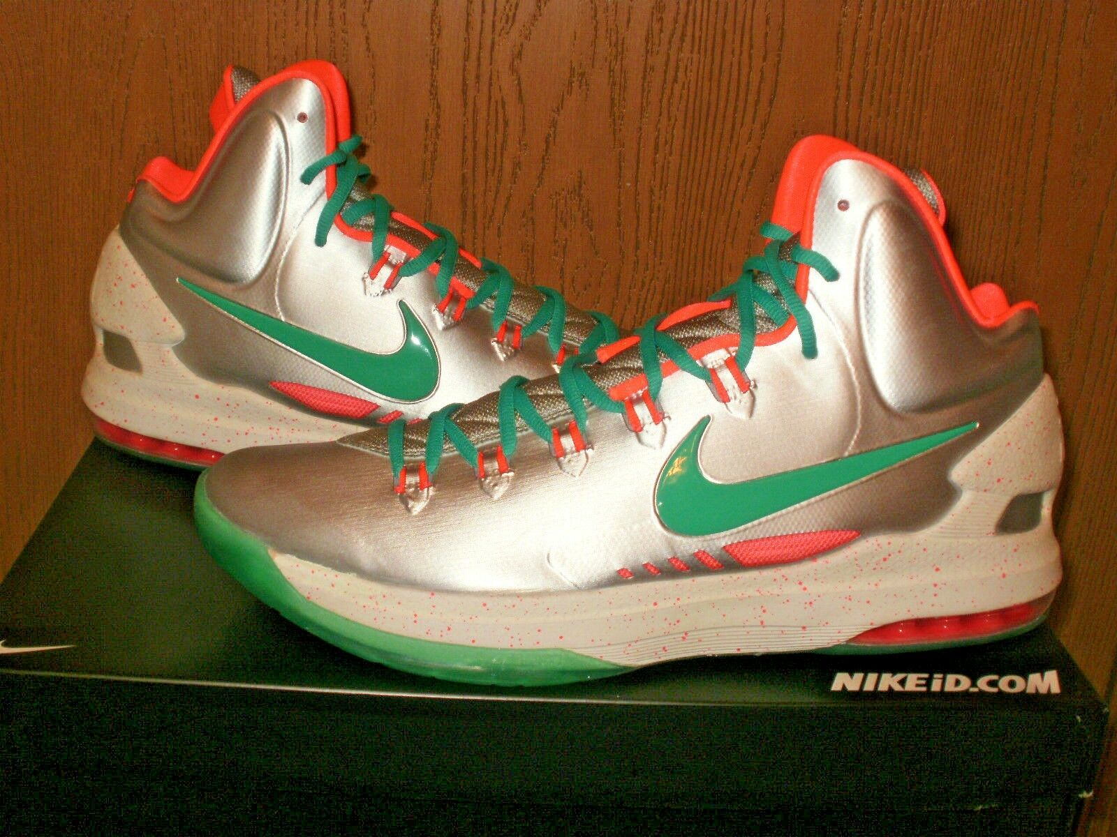 KD V 5 Nike ID Kevin Durant Durant Durant Glow-in-the-dark! Marty Mcfly Air Mag-inspired!  311c05