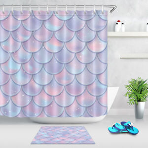 Fabric Shower Curtain Set Flicker
